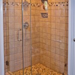 Frameless Shower no Header