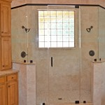 Frameless Shower with Header 1