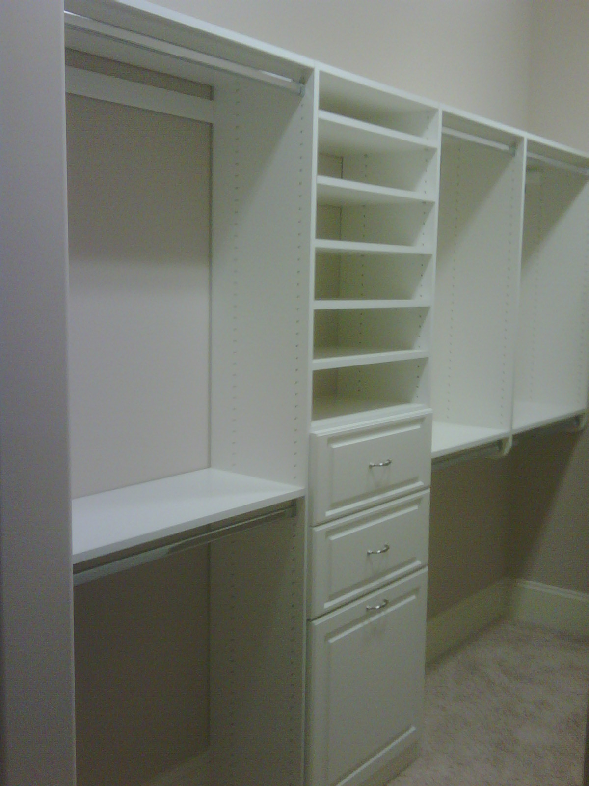 Melamine Closet System Home Decor