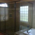 Semi-Frameless Shower Door 2