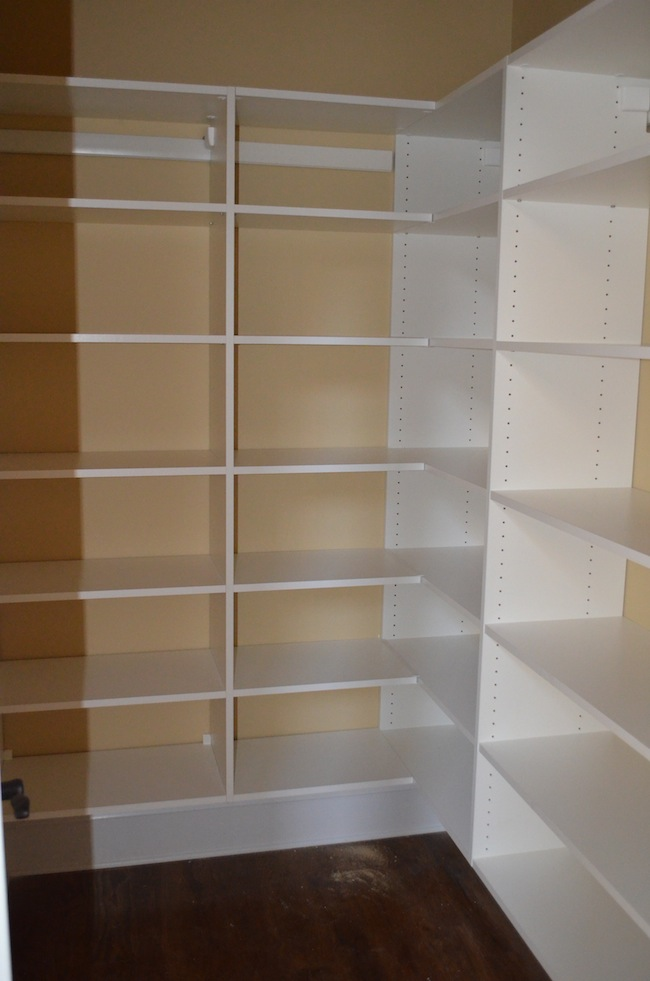 Pantry Wood Shelving Units 650 x 981